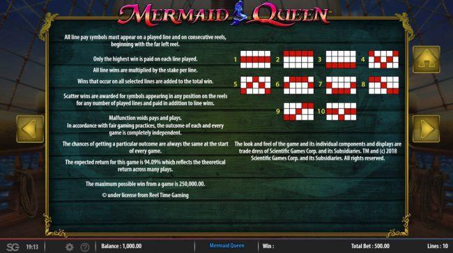 Mermaids Queen :: General Game Rules