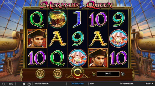 Mermaids Queen :: Main Game Board