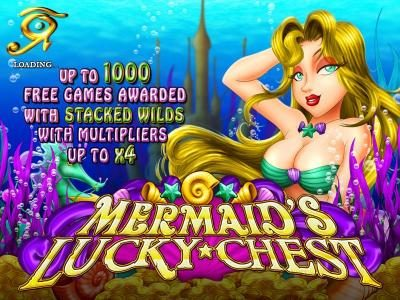 Casinoval featuring the Video Slots Mermaid's Lucky Chest with a maximum payout of $250