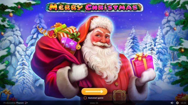Play slots at ReelTastic: ReelTastic featuring the Video Slots Merry Christmas with a maximum payout of $210,000