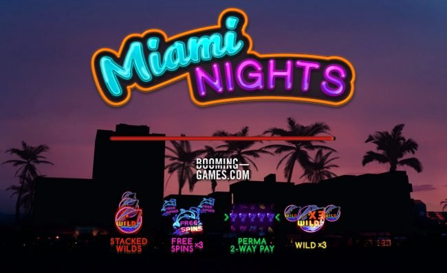 Play slots at Prime Slots: Prime Slots featuring the Video Slots Miami Nights with a maximum payout of $15,000