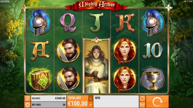 Mighty Arthur :: Main Game Board