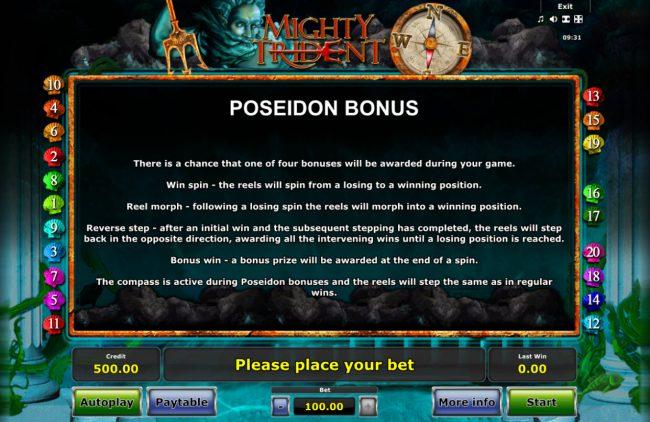 Bonus Feature Rules
