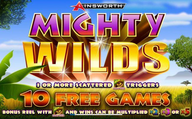 Mighty Wilds :: Splash screen - game loading