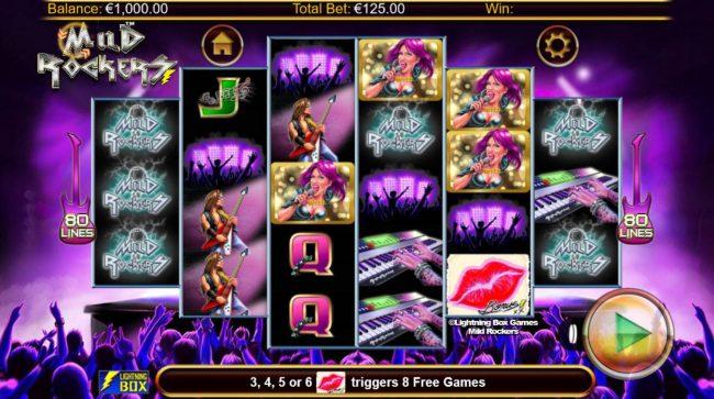 Mild Rockers :: Main Game Board