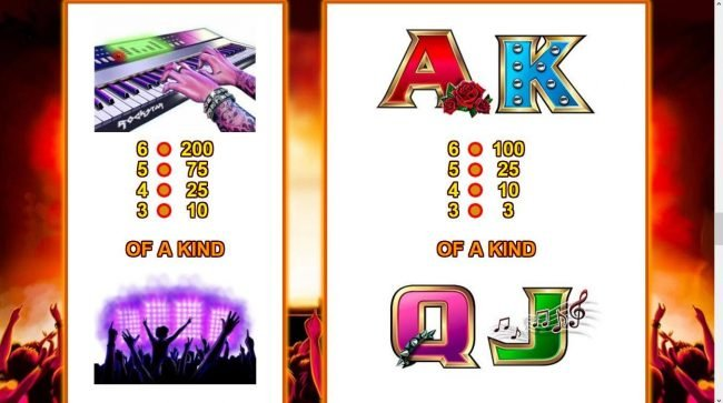 Orientxpress featuring the Video Slots Mild Rockers with a maximum payout of $156,000