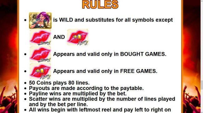 Mild Rockers :: General Game Rules