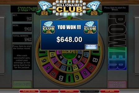 Lightbet featuring the Video Slots Millionaires Club II with a maximum payout of $100,000