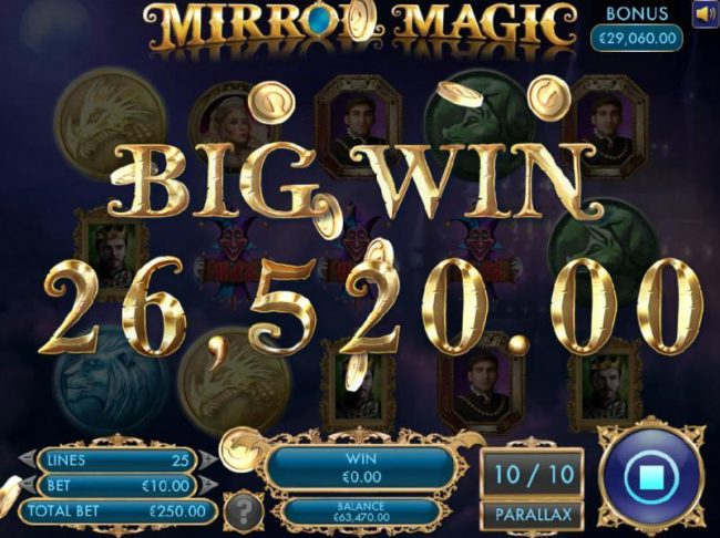 During a second free spins bonus feature another by win is registered for 26,520.00