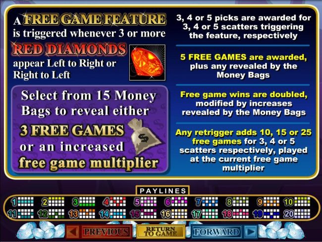 Cherry Jackpot featuring the Video Slots Mister Money with a maximum payout of $250,000