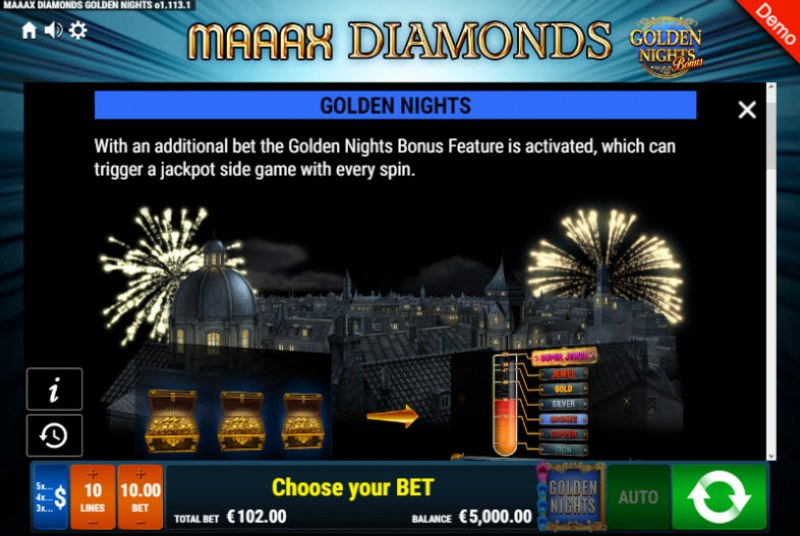 Maaax Diamonds Golden Nights Bonus :: Golden Nights Bonus