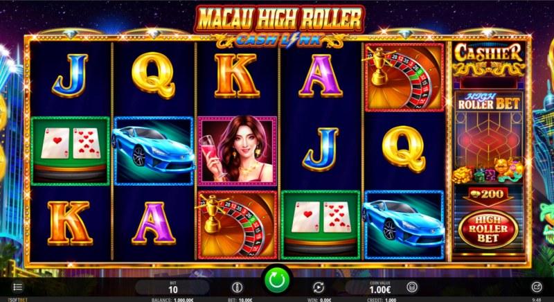Macau High Roller :: Main Game Board
