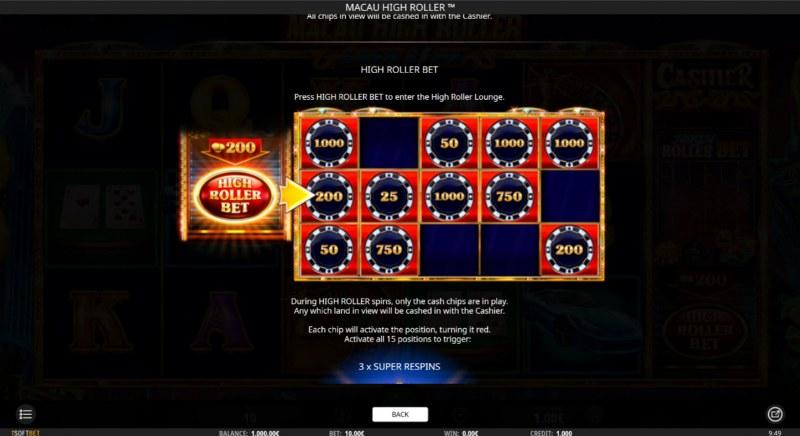 Macau High Roller :: High Roller Bet