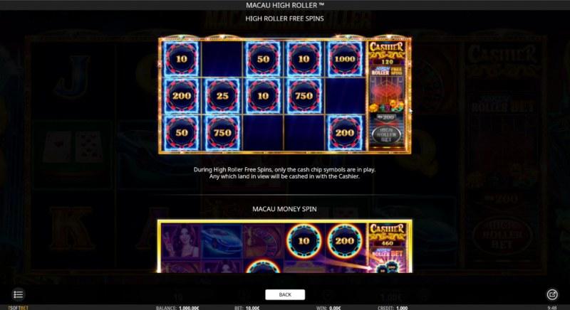Macau High Roller :: High Roller Free Spins