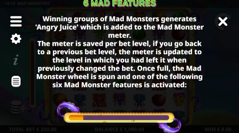 Mad Monsters :: Feature Rules