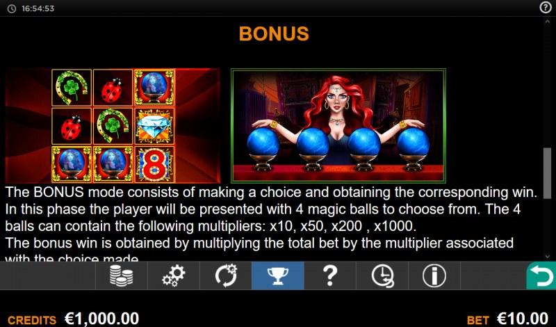 Madame Fortuna Reveal :: Bonus Feature