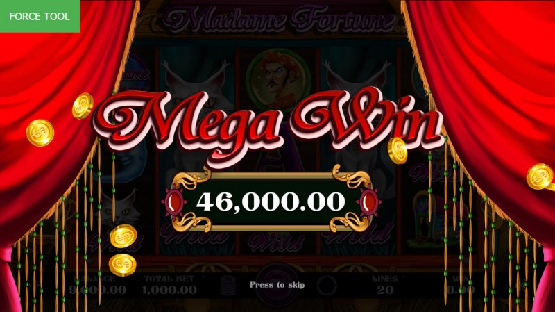 Madame Fortune :: Mega Win