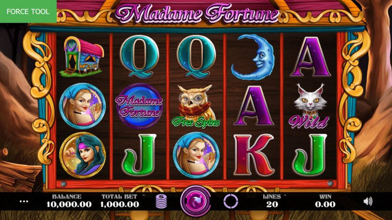 Madame Fortune :: Main Game Board