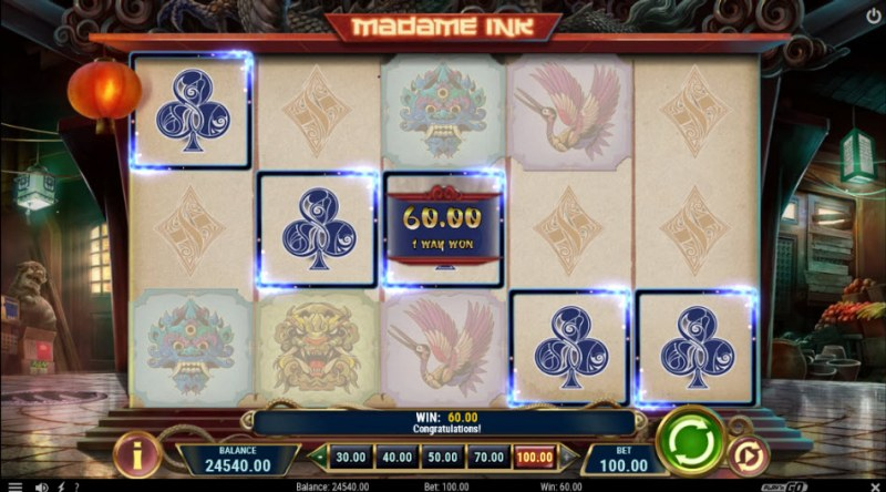 Madame Ink :: A five of a kind win