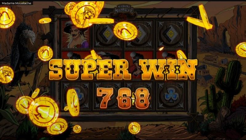 Madame Moustache :: Super Win