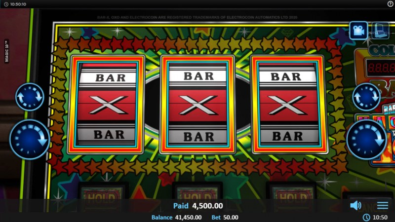 Magic 10 :: Total Free Spins Payout