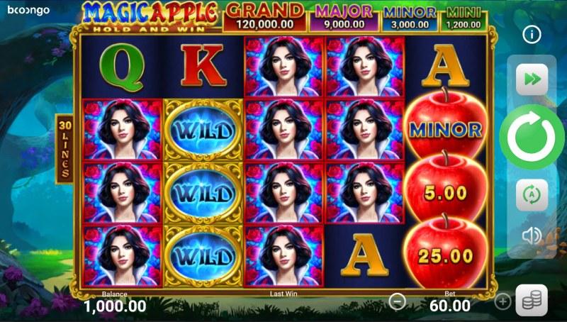 Magic Apple Hold and Win :: Main Game Board
