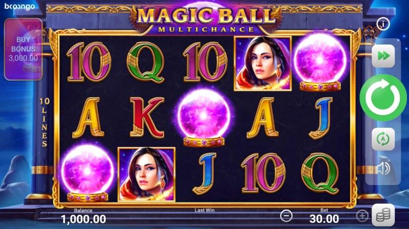 Magic Ball Multichance :: Base Game Screen