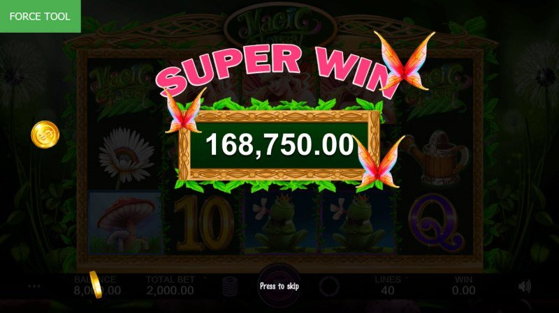 Magic Forest :: Super Win