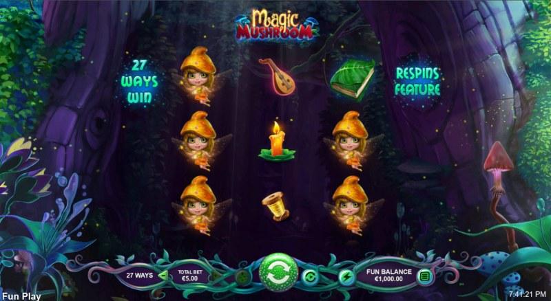 Magic Mushroom :: Main Game Board