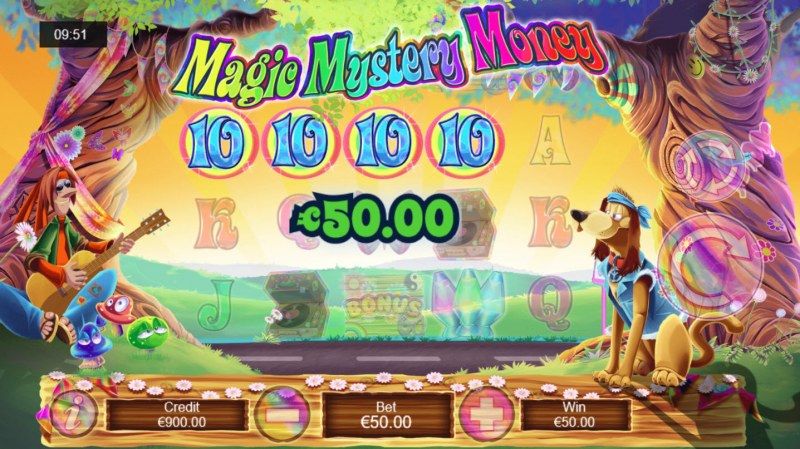 Magic Mystery Money :: A four of a kind Win