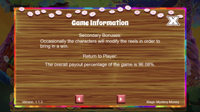 Magic Mystery Money :: General Game Rules