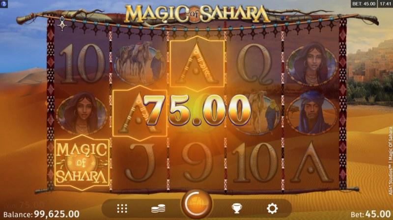 Magic of Sahara :: Three of a kind