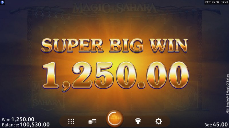 Magic of Sahara :: Super Big Win