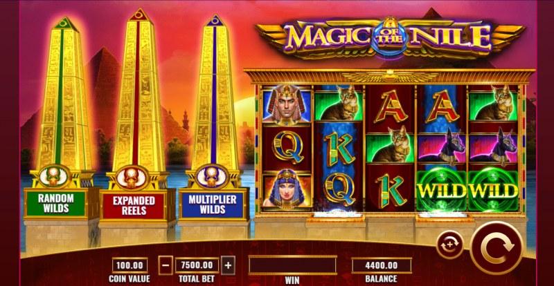 Magic of the Nile :: Main Game Board
