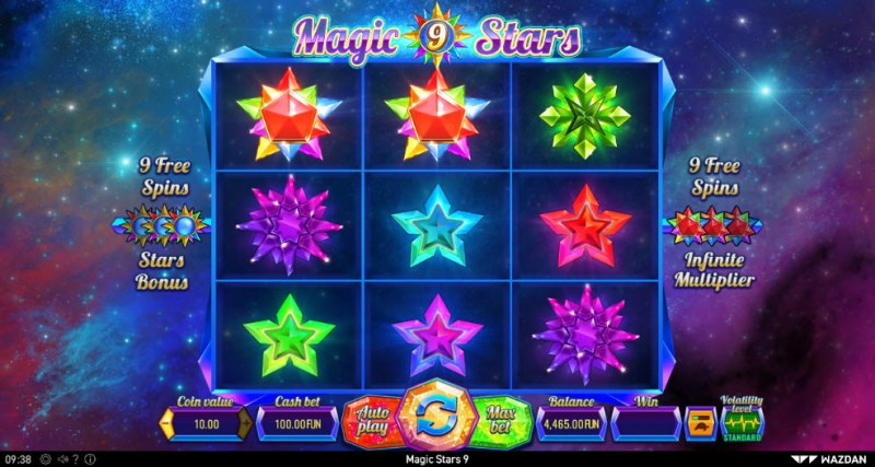 Magic Stars 9 :: Main Game Board