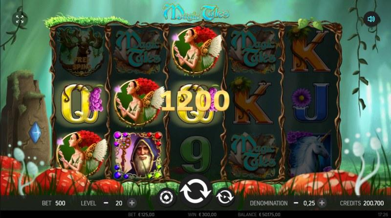 Magic Tales :: Multiple winning paylines