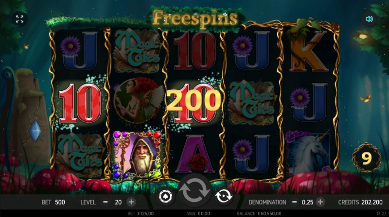 Magic Tales :: Free Spins Game Board