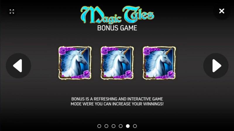 Magic Tales :: Bonus Game Rules