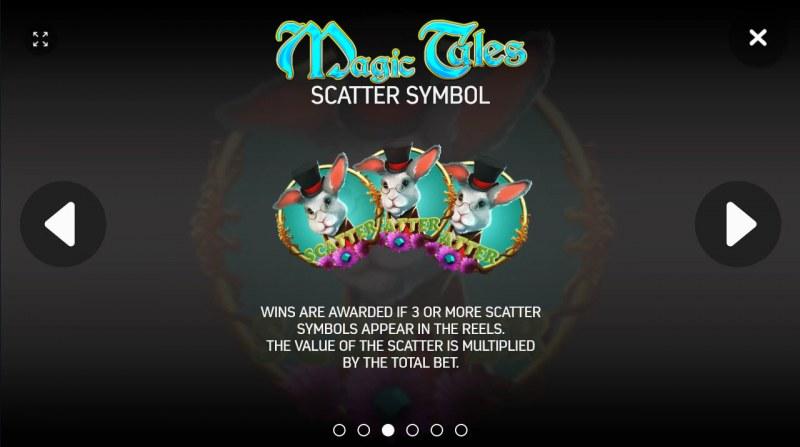 Magic Tales :: Scatter Symbol Rules