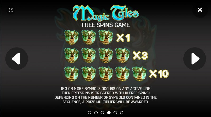 Magic Tales :: Free Spins Rules