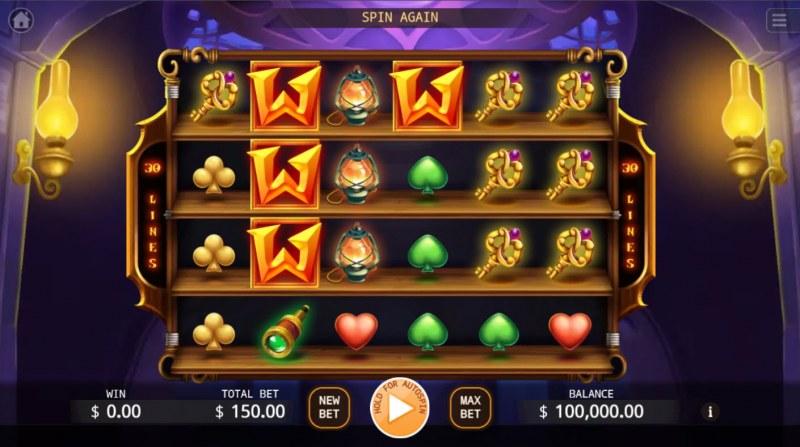 Magical Store :: Base Game Screen
