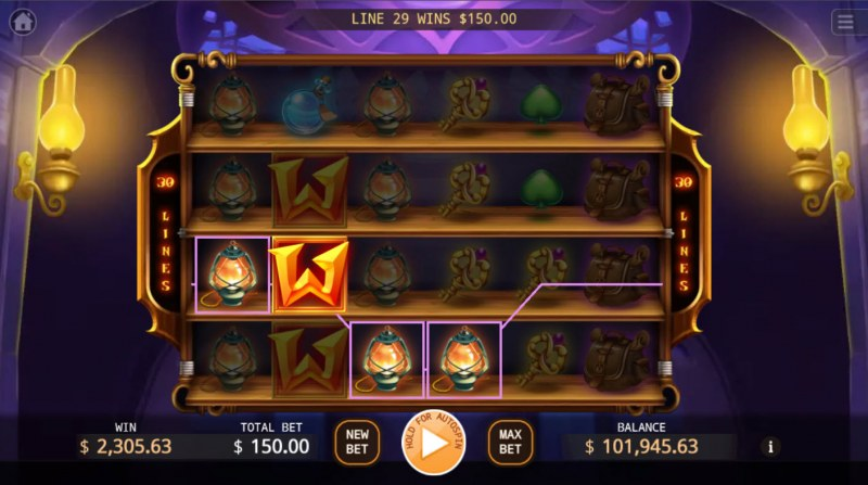 Magical Store :: Multiple winning combinations lead to a big win