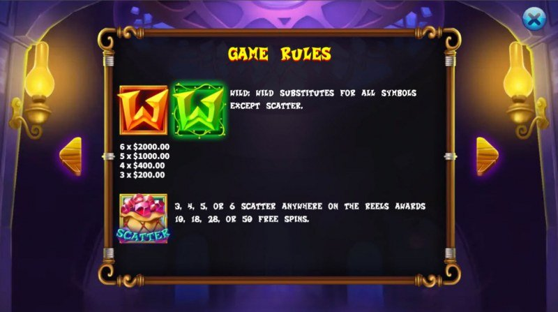 Magical Store :: Wild and Scatter Rules