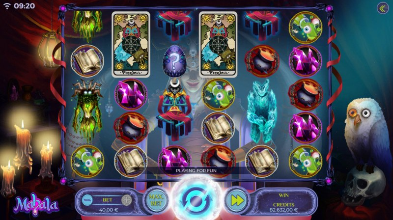 Mahala :: Main Game Board