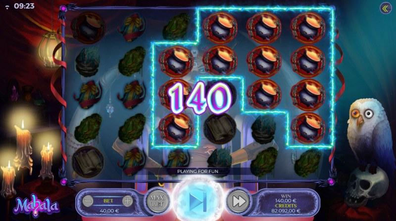 Mahala :: Multiple winning combinations