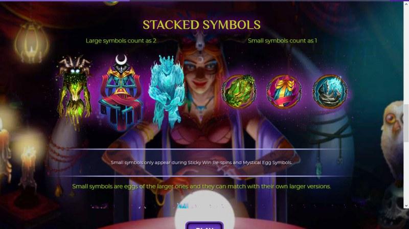 Mahala :: Stacked Symbols