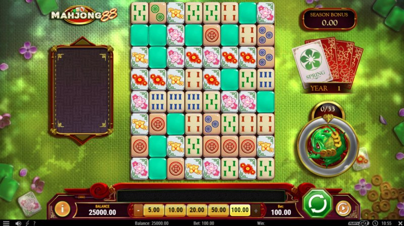 Mahjong 88 :: Main Game Board