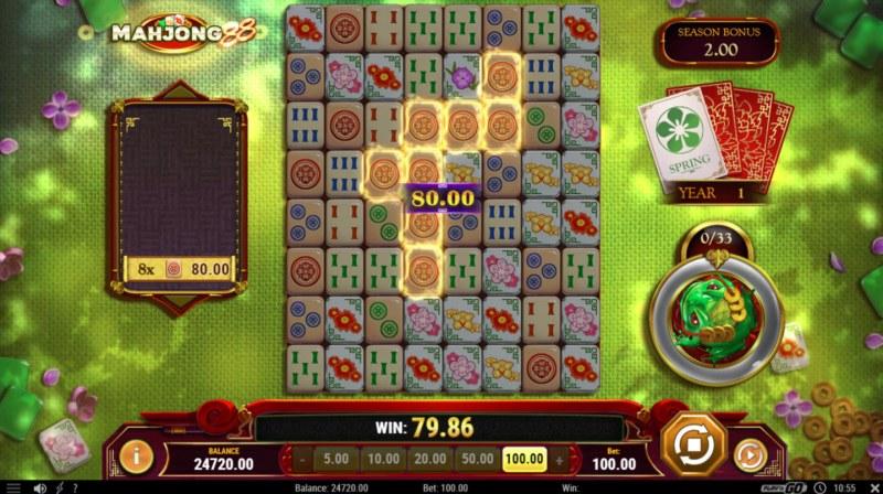 Mahjong 88 :: A winning cluster