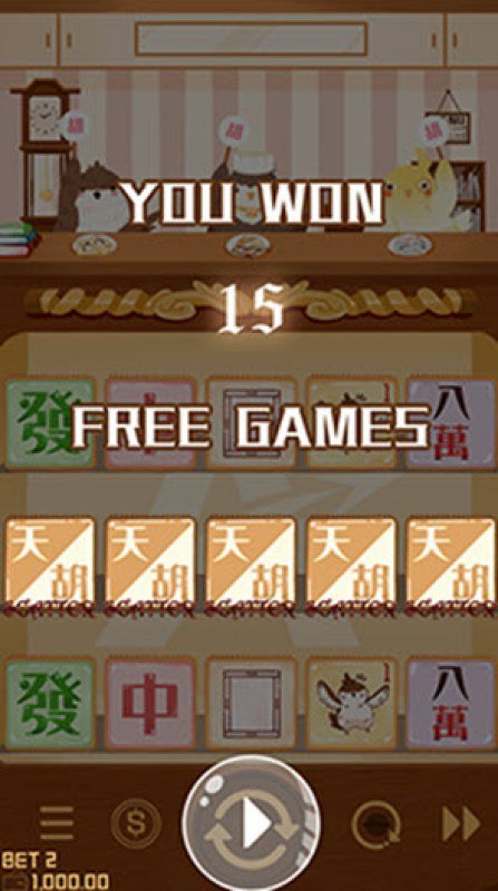 Mahjong :: 15 Free Games Awarded