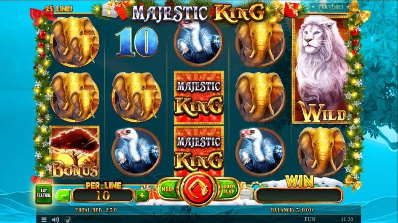 Majestic King Christmas Edition :: Main Game Board